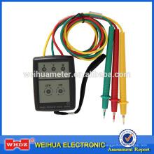 Testeur de phase SP8030 Indicateur de phase de l'indicateur de séquence du détecteur de phase