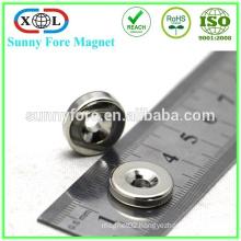permanent disc neodymium magnet with nickel coating
