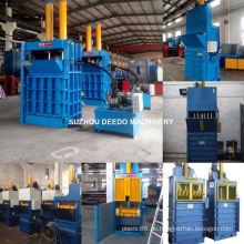 Pet PP PE Abfall-Plastikflaschenballenpresse-Maschine