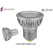 E26 / E27 / GU10 5W Spot Triac Dimmable LED bombillas con CE RoHS UL