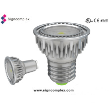 E26/E27/GU10 5W Spot Triac Dimmable LED Light Bulbs with CE RoHS UL