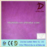 Purple breathable pp spunbonded non woven fabric for bags