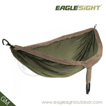 OEM Camping Compressed Double-Sized Parachute Hammock