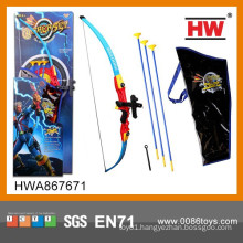 Kids Outdoor Sport Toy Plastic Bow and Arrow Toys Set