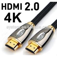 2016 HEISSER VERKAUF 1M 3M 5M 10M 30m V2.0 4K 60HZ 2160P HDMI Kabel mit Ethernet für BLURAY 3D DVD PS 3 HDTV 360