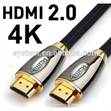 2016 HOT SELL 1M 3M 5M 10M 30m V2.0 4K 60HZ 2160P Cabo HDMI com Ethernet para BLURAY 3D DVD PS 3 HDTV 360
