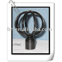 curtain rods (finials)