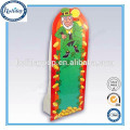 Free Standing Cardboard Advertising Table Standee With Hook