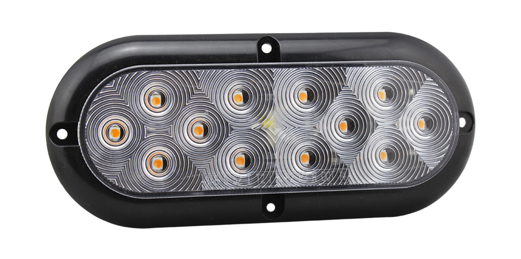 High Stability Oval Trailers Indicator Turning Lighting