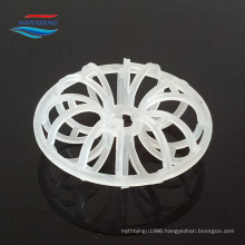 PP/PE/PVC/CPVC/PVDF Plastic tellerette ring for tower packing