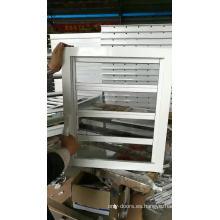 ventana de aluminio persiana de vidrio seguro de la planta de la rejilla de ventilación de rejilla de ventilación abrible