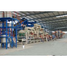 20000 ~ 100000 Cbm de um ano A linha de produção de laminação HDF / MDF / Ldf totalmente automática da Hot Press Machine