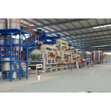 Ligne de production MDF entièrement automatique