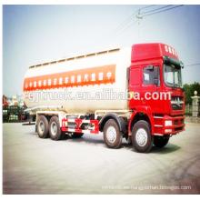 Camión del cemento de 8x4 Sinotruk HOWO / camión del polvo de cemento / camión del polvo del cemento en bulto / camión del transporte del cemento con 40CBM capacidad