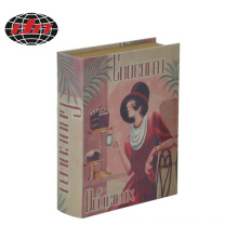 Lady MDF Wooden Book Box
