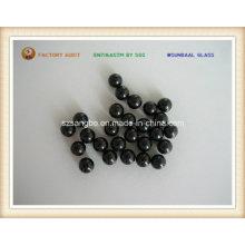 Boule de Precision verre / verre boule de verre perle/noir