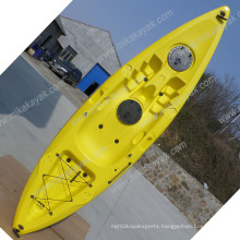 New Design Single Fishing Kayak Wholesale Sit on Top Professional Canoe Boat (M03)