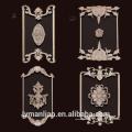 meubles en bois décoratifs sculptés à la main appliques et onlays sculptures sur bois