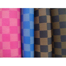 Pu Synthetic Leather   for footwear material ,upholstery,gar