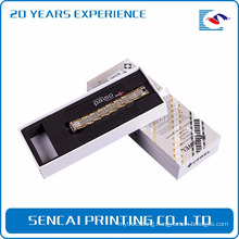 Sencai popular watchband packing paper box