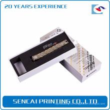 Популярная бумажная коробка упаковки браслета Sencai
