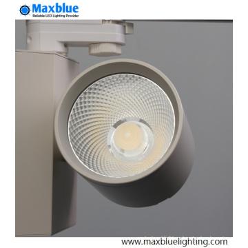 CRI90 + estándar europeo 3phase / 4 alambre CREE COB LED Track lámpara