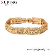 75790 xuping 18k позолоченный роскошные Мода стиль Шарм браслет для женщин
