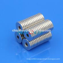 NdFeB NIB Neo ndfeb round countersunk neodymium magnets