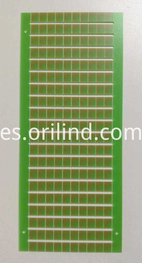 Single side printed circuit board
