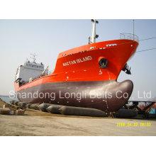 Airbag de borracha do navio marinho