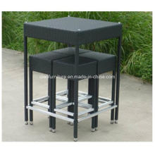 Save Shipping Cost PE Mesa De Vime High Black Bar Set