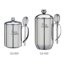 Stainless Steel Double Wall Cup 300ml, 450ml