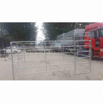 Paneles de corral de caballos para caballos de fuerza Paneles de caballete para caballos de metal