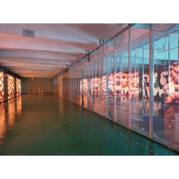 High Brightness Indoor Glass P3.91 Transparent Led Display
