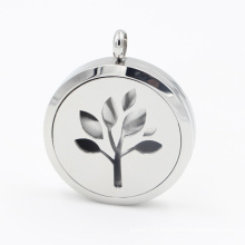Tree Oil Diffuser Locket Pendant for Fashion Necklace Jewelry