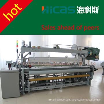 Qingdao HICAS 330cm Rapier Webmaschine Textilwebmaschine