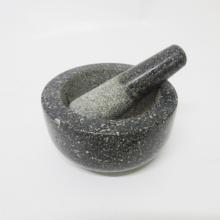 Berkualiti tinggi granit Mortar dan Pestle Set