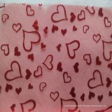 Fils de verre décoratifs pour le tissu de mariage