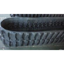 Material rodante da miniescavadeira de esteira de borracha 230x96x35