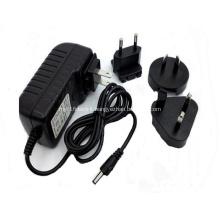 Power Adapter 5v 1000ma interchangeable international plug
