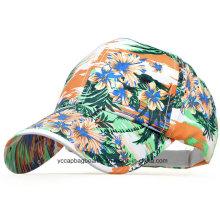 Modern Wild Style Flower Printed Baseball Cap