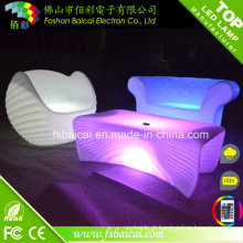 Mobília do clube nocturno do bar com luz do diodo emissor de luz da mudança da cor do RGB
