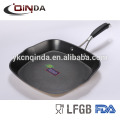 New die casting deep grill pan with high quality