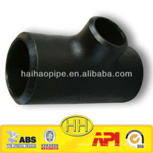ASTM A234 WPB seamless carbon steel reducer tee