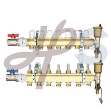 High quality brass manifold for floor heating system