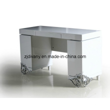 Pós-moderno High lustroso casa mesa escrivaninha (LS-205)