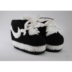 Crochet baby booties Knitting baby shoes booties