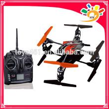 Juguete al por mayor de china nuevo producto 2.4g 4 canales de control remoto quadcopter con girocompás con usb al aire libre quadcopter cielo volando