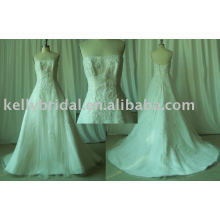 Supply 2010 hot selling style/ bridal gown/evening wear/prom gown/Mother of bride/Flower girl