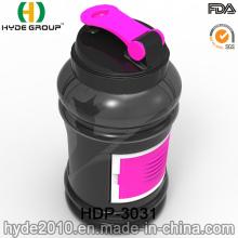 2,2 L alta qualidade BPA livre água garrafas de plástico, plástico esporte proteína Joyshaker garrafa (HDP-3031)